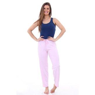 Pijama Algodão Mechler Calça Feminino