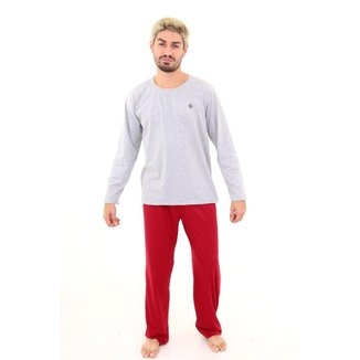 Pijama Algodão Mechler Longo Masculino
