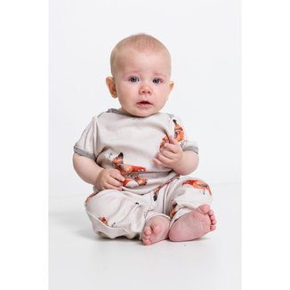 Pijama Baby De Ribana De Algodão