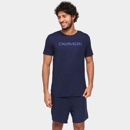 Pijama Calvin Klein Curto Masculino