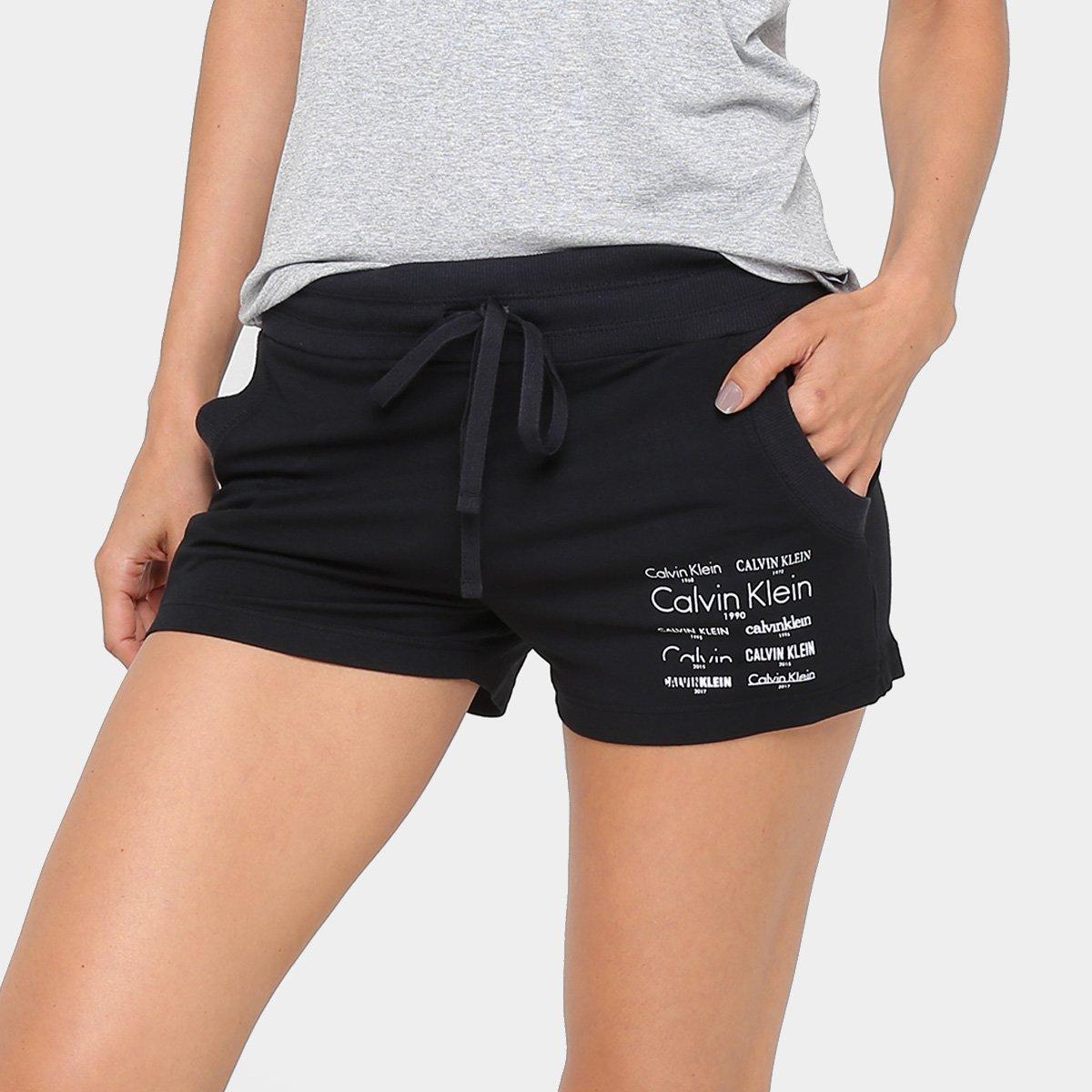e19b636e79cc Pijama Calvin Klein Shorts Heritage Feminino   Zattini