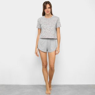 Pijama Hering Curto Feminino