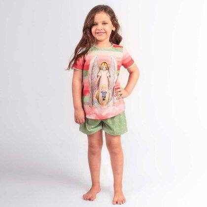 Pijama Infantil Anjo da Guarda PJ6096 2 AGAPE