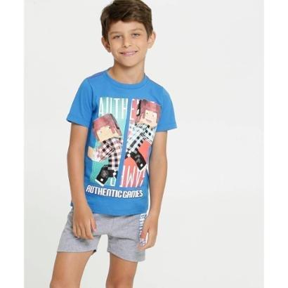 Pijama Infantil Authentic Games Masculino