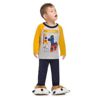 Pijama Infantil Brandili Cavalinho Masculino