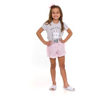 Pijama Infantil Evanilda Cute Girl Feminino