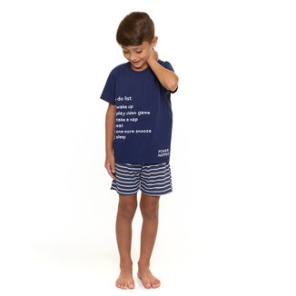 Pijama Infantil Evanilda Disturb Power Napper Masculino