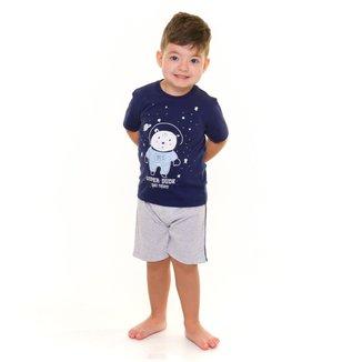 Pijama Infantil Evanilda Super Dude Masculino
