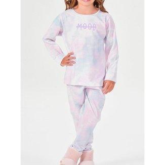 Pijama Infantil Feminino Longo Espaço Pijama
