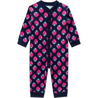 Pijama Infantil Feminino  Moletom  Kyly