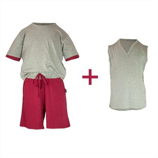 Pijama Infantil Gummi Martin 3 peças Masculino