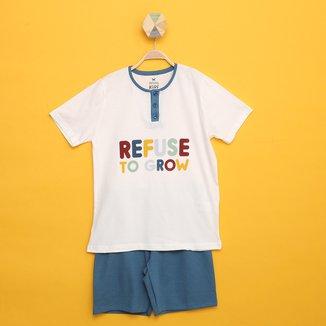 Pijama Infantil Hering 3 Peças Masculino