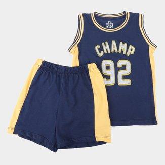 Pijama Infantil Hering Champ 92 Masculino