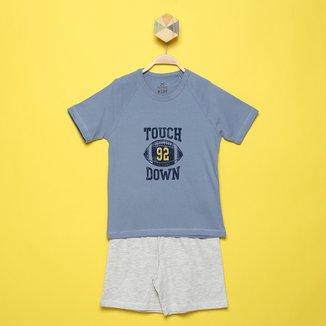 Pijama Infantil Hering Estampado Masculino