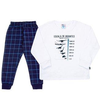 Pijama Infantil Longo Pulla Bulla Gigantes Masculino