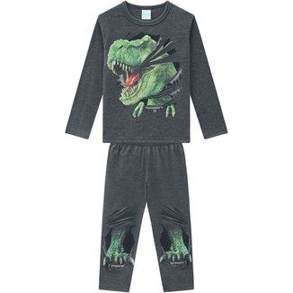 Pijama Infantil Masculino Camiseta + Calça Kyly