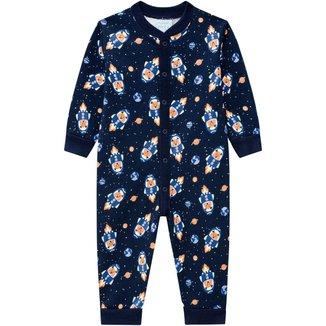 Pijama Infantil Masculino  Meia Malha  Kyly