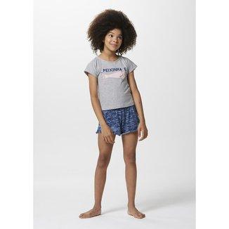 Pijama Infantil Menina Com Estampa Tal Pai Tal Filha - 7CBG1AEN7 Feminino