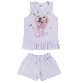 Pijama Infantil Verde Viver Feminino