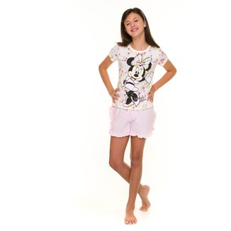 Pijama Juvenil Evanilda Disney Minnie Feminino