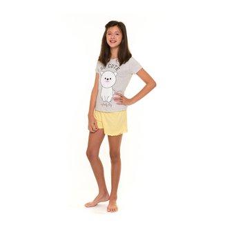 Pijama Juvenil Evanilda So Cute Feminino