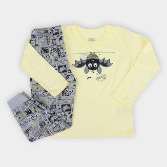 Pijama Longo Infantil Elian Boo! Masculino
