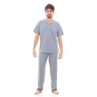 Pijama Mechler Algodão Longo Masculino