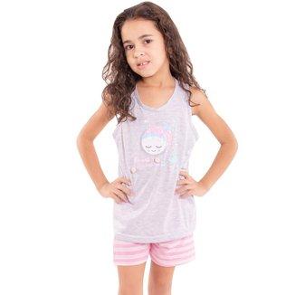 Pijama Victory Com Pompom Feminino