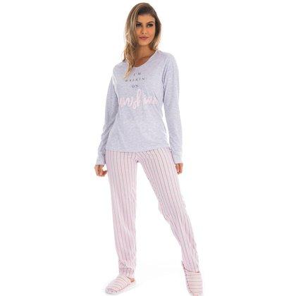 Pijama Victory Inverno Pv Especial Feminino