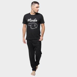Pijama Volare Longo Minha Namorada Masculino