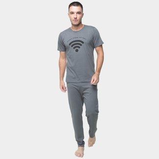 Pijama Volare Longo Wi-fi Masculino