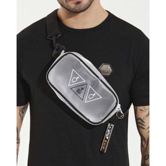 Pochete Buh Shoulder Bag Transparente