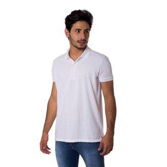 Polo Basica Com Logo Thiago Brado 1097000001 Branco - Branco - PP