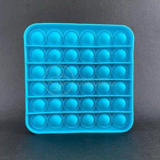 Pop It Quadrado Fidget Toy Brinquedo Silicone Anti Stress Estourar Bolha Sensorial