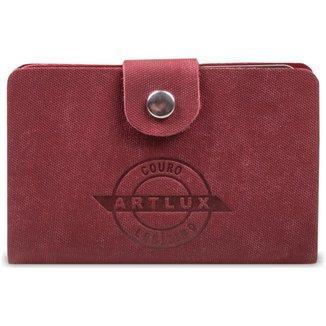 Porta Cartão Artlux em Couro