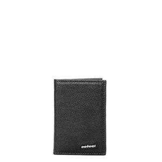 Porta Cartão Couro Colcci Básico Liso Masculino