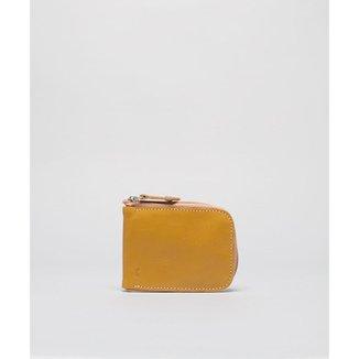 Porta Cartão Ziper - Amarelo Soulier