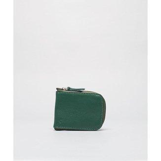 Porta Cartão Ziper - Verde Soulier