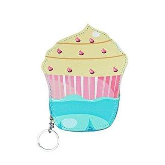 Porta Moedas Glamour  Chaveiro Cupcake