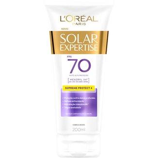 Protetor Corporal L'Oreal Paris Solar Expertise Supreme Protect 4 FPS 70 200ml