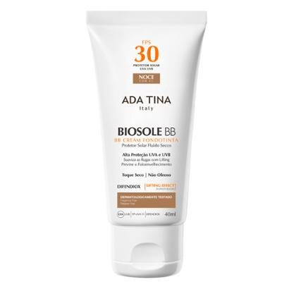 Protetor Solar Ada Tina - Biosole BB Cream FPS 30 Noce