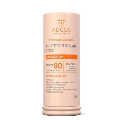 Protetor Solar Adcos Stick FPS 80 Ivory