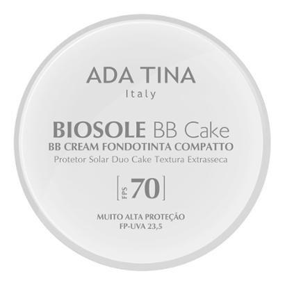 Protetor Solar Anti Idade Adatina - Biosole Bb Cake FPS 70 Bianco Cor 15