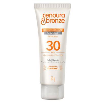 Protetor Solar Cenoura & Bronze Facial FPS30 50g