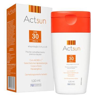 Protetor Solar em Loção Fps30 Actsun - Loção Protetora 120ml