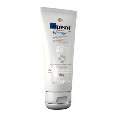 Protetor Solar Facial Episol Whitegel Fps 45 - Mantecorp Skincare 60g