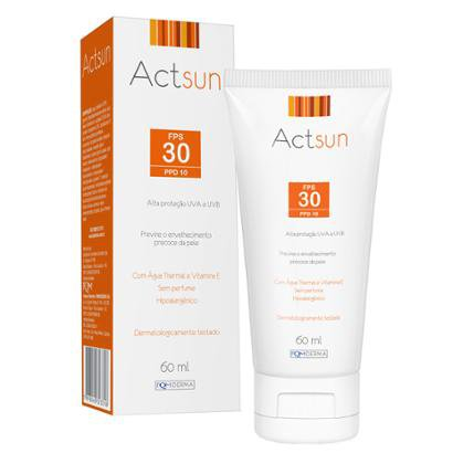 Protetor Solar Facial FPS 30 Actsun 60ml