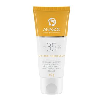 Protetor Solar Facial FPS 35 Anasol 60g