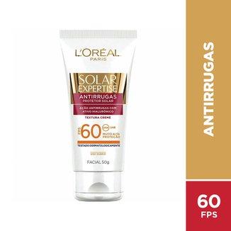 Protetor Solar Facial L'Oréal Paris Solar Expertise FPS 60