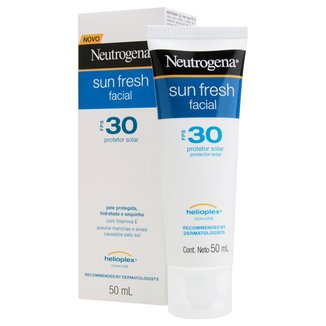 Protetor Solar Facial Neutrogena Sun Fresh FPS 30 50ml